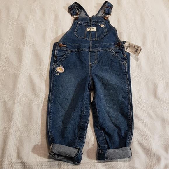 NWT Oshkosh jean overalls 24 months